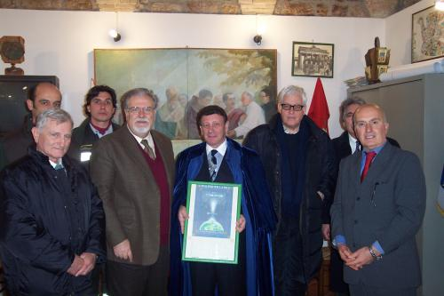 knighted in assisi.jpg